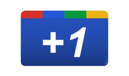Sitelerinize Google Plus +1 Butonu Eklemek